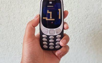 Geen verbinding, meer connectie; terug naar de Nokia 3310.