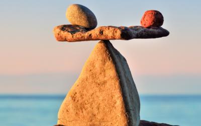 De balans tussen vasthouden en loslaten.