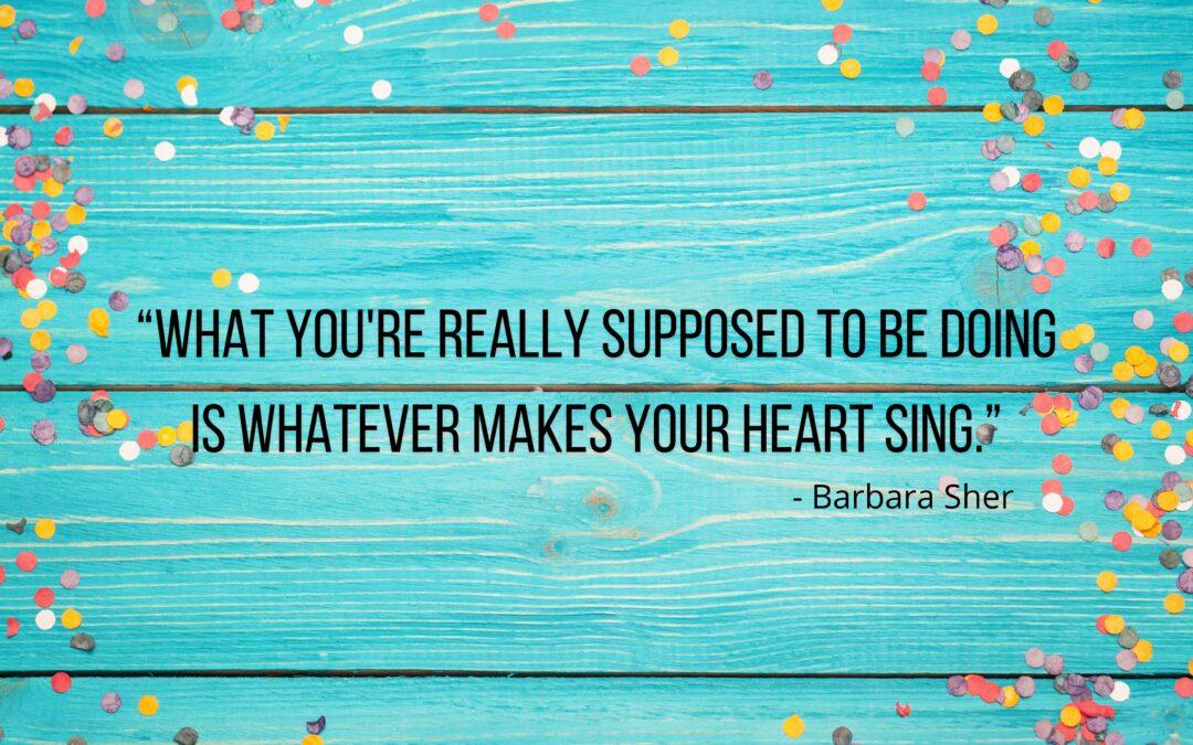 Do whatever makes your heart sing: hoera, ik ben (weer) een ondernemer!